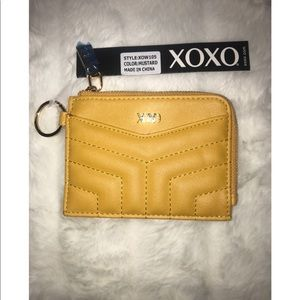XoXo zipper wallet